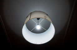 House round paper Ceiling lighting. House round paper Ceiling lighting white color stock images