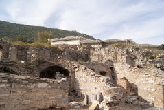 The house ruins Royalty Free Stock Photography