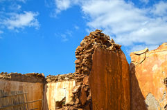 House ruins Royalty Free Stock Image