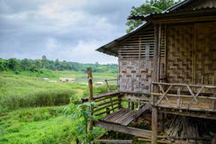 House Rural. Landscape of House Rural in Thailand Royalty Free Stock Image