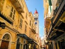 Old town of Corfu Royalty Free Stock Photos