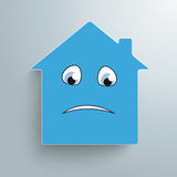 House Sadly Face Royalty Free Stock Images