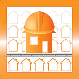 House in safety Royalty Free Stock Image