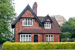 House in Saint Stephen's Green Park, Dublin, Ireland Stock Images
