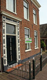 House for sale. Old Dutch house for sale Stock Photography