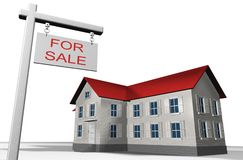House for sale Stock Photos