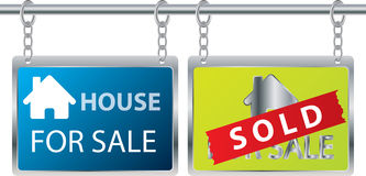House for sale Stock Photos