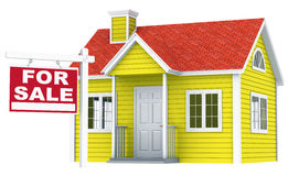House for Sale. Royalty Free Stock Photos