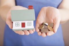 House sale Stock Photos