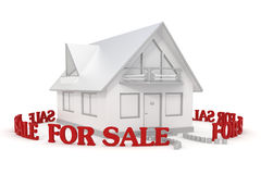 House for sale 3 Royalty Free Stock Image