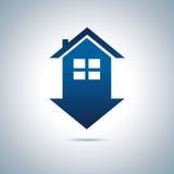 Blue house Stock Photos
