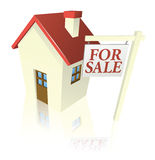 House for sale graphic Stock Image