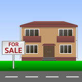 House for sale Royalty Free Stock Images