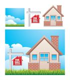 House for sale icons Stock Image