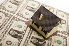 House for sale & Money Royalty Free Stock Photos
