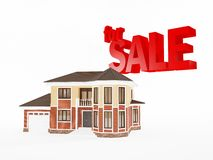 House for sale, Real Estate business Stock Photos