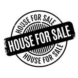 House For Sale rubber stamp Stock Photos