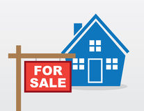 House Sale Sign Stock Photos