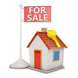 House and sale Royalty Free Stock Image