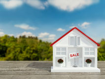 House for sale. Royalty Free Stock Photo