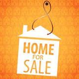 House sale vector Royalty Free Stock Images