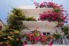 House on Samos Stock Photo