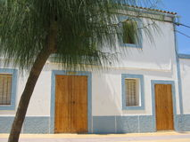 House in San Francesc - Formentera Stock Photo