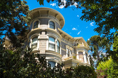 House in San Francisco Royalty Free Stock Images