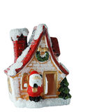 House Santa Claus Royalty Free Stock Image