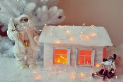 House of Santa Claus Stock Photography