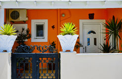 House in Santorini Royalty Free Stock Image