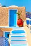 House in Santorini Stock Photo