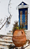 House at Santorini island in Greece Royalty Free Stock Image