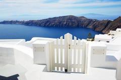 The house on Santorini island Royalty Free Stock Photography