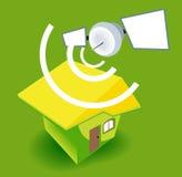 House Satellite Royalty Free Stock Image