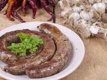 House sausage Royalty Free Stock Photos
