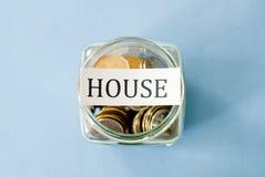 House savings Royalty Free Stock Image