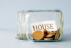 House Savings Royalty Free Stock Photos
