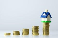 House savings plan Royalty Free Stock Images