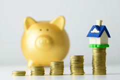 House savings plan Royalty Free Stock Image