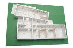 House scale-model Stock Images