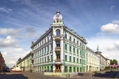 House Schetinkina (former hotel Stock Image