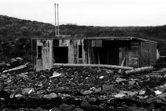 House at the sea royalty free stock photos