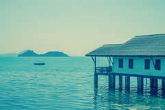 The house by the sea Stock Photography