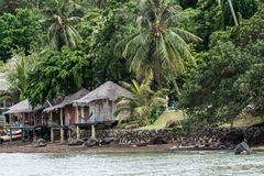House by the sea at Thailand Royalty Free Stock Images