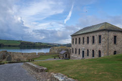 House by sea. Museum in Fort George in Kinsale, Ireland Stock Photos