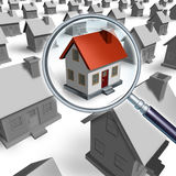 House Search Royalty Free Stock Images