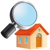 House search icon Stock Photo