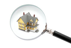 House searching concept Stock Image