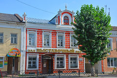 House of the second half of the 19th century on Rostov street in Pereslavl-Zalessky, Russia Royalty Free Stock Images